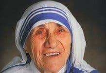 Mother Teresa drawing.