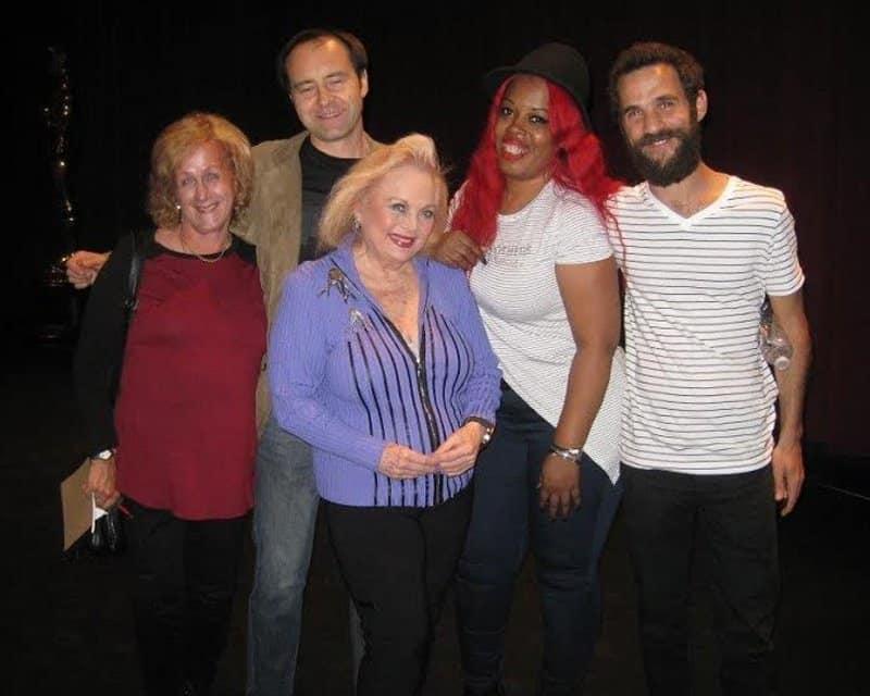 Nurit Greenger with Bartek Gliniak, Carol Connors, Princess Shaw and Ofir Kutiel May 2016.