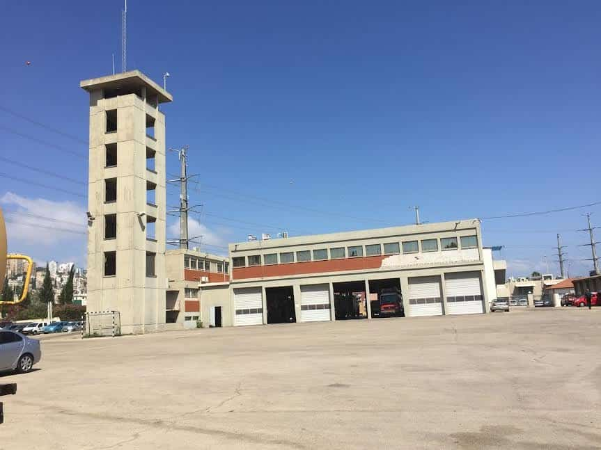 Haifa-command fire fighters' station