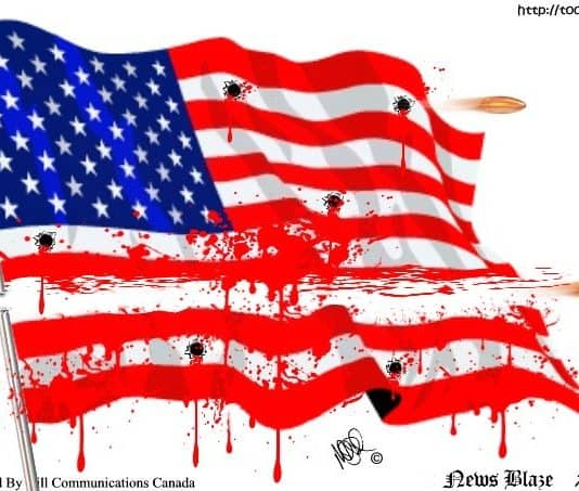 Bloodstained Flag.