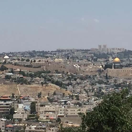 Jerusalem from Commissioner Palace promenade