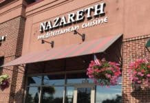 Nazareth Restaurant in Columbus Ohio.