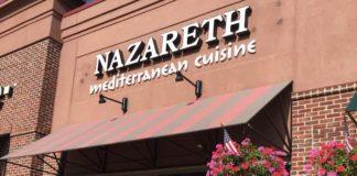 Nazareth Restaurant in Columbus Ohio.