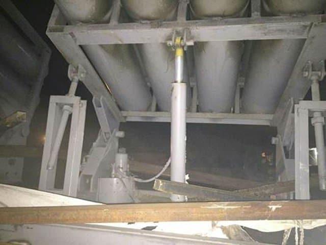 missile launcher elevation.