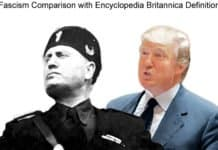 mussolini and trump.