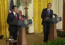 mexican president pena nieto and u.s. president barack obama.