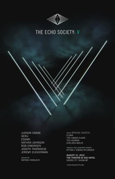Echo Society V Poster - August's Calendar of Global Media