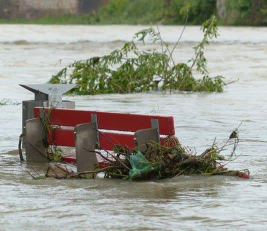flood water.