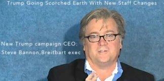 Trump campaign CEO, Steve Bannon.