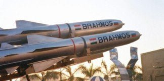 Brahmos supersonic missiles.