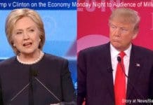 Clinton Trump debate