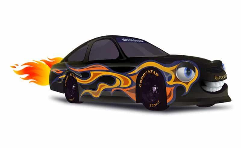 En Fuego NASCAR.
