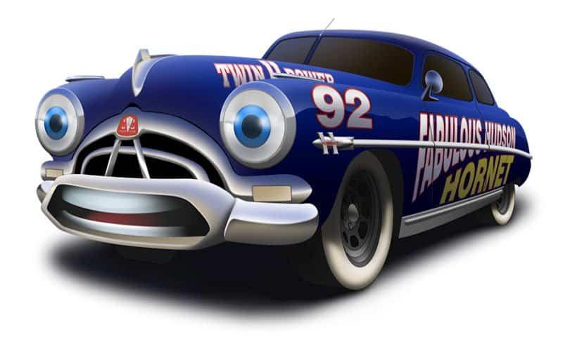 Fabulous Hudson NASCAR.
