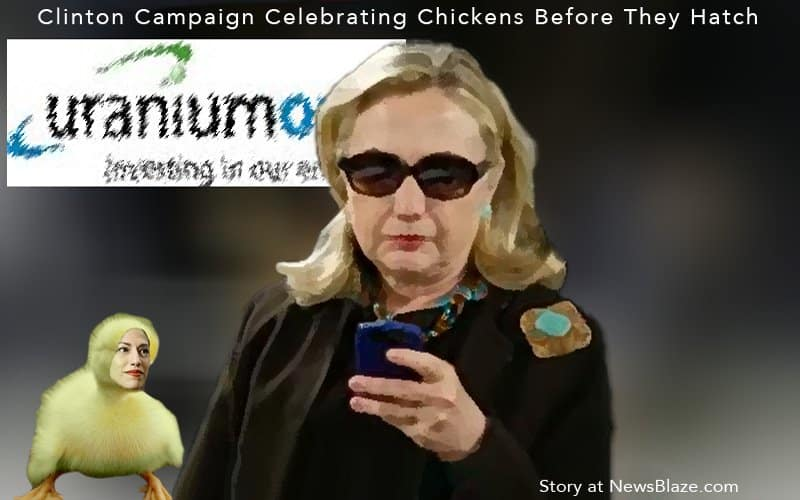 hillary clinton counting chickens.