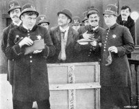 Keystone Cops, 1912, Public Domain, Wikipedia