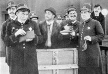 Keystone Cops, 1912, Public Domain, Wikipedia