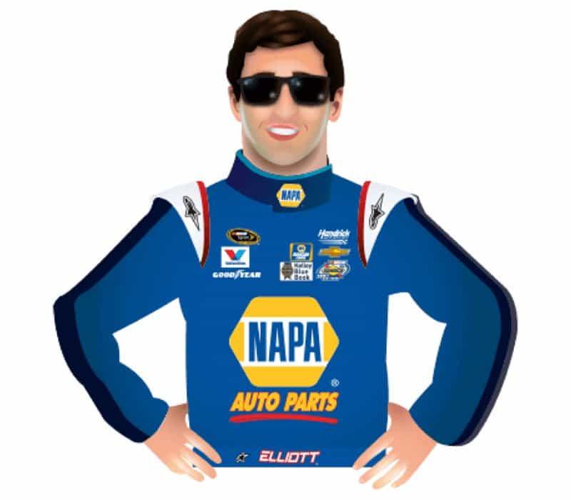 Napa Autoparts NASCAR.