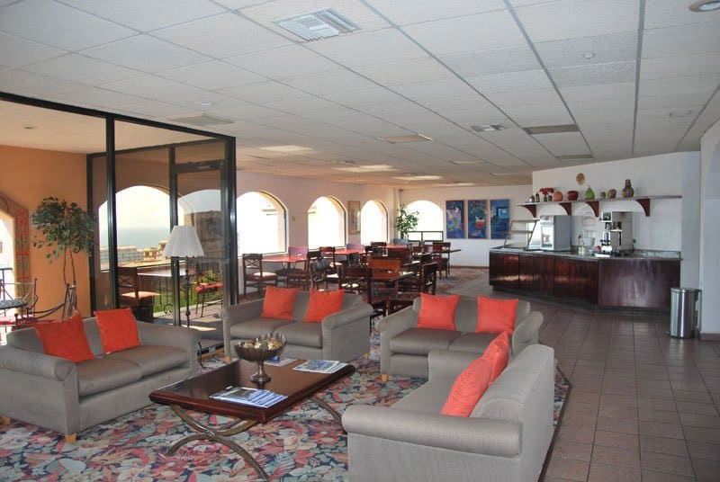 Real del Mar lobby.