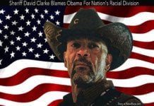 Sheriff David Clarke Blames Obama For Racial Division.