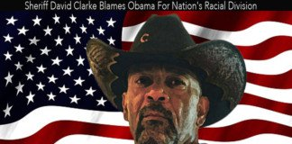 Sheriff David Clarke Blames Obama For Racial Division.