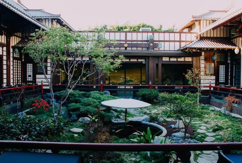 Yamashiro garden.