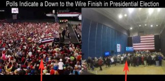down to the wire finish presidential race.