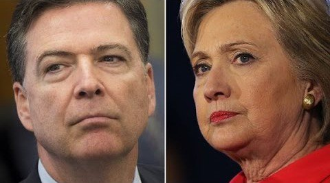 James Comey has new evidence from Hillary Clinton's email server.