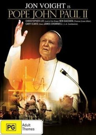 John Paul II movie John Voight poster.