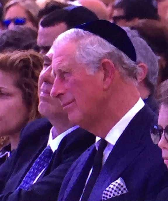 Prince Charles. Photo: Nurit Greenger.