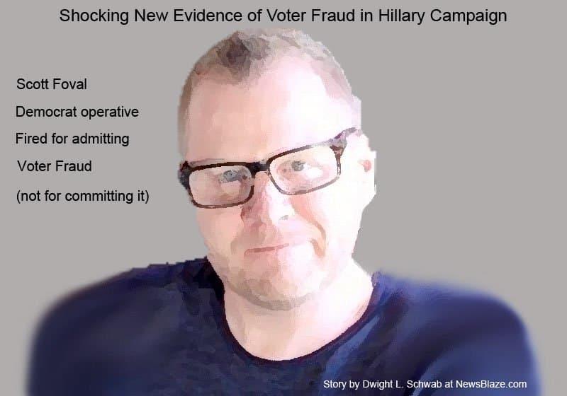 Scott Foval admints democrat voter fraud.