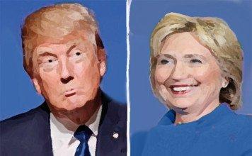 trump vs. clinton debate.