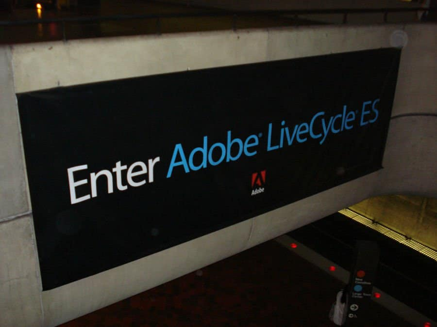 Adobe buys ad tech company.