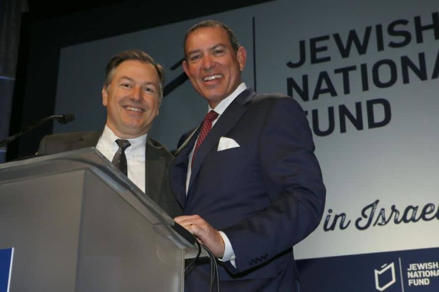 Co-Chairs Barak Lurie-L & Doug Williams-R-Photo Orly Halevy