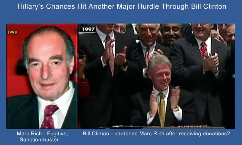 hillary hits another hurdle - Marc Rich.