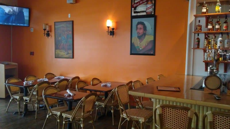 Janga offers jamaican cuisine by derrick angus for Dining room 107 offers
