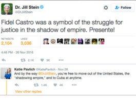 jill stein's castro tweet.