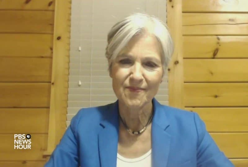 Jill Stein files for recount.