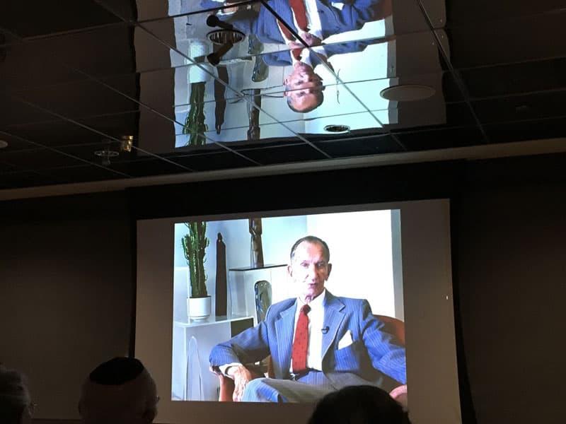 Karski, from the documentary.