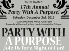 party with a purpose.