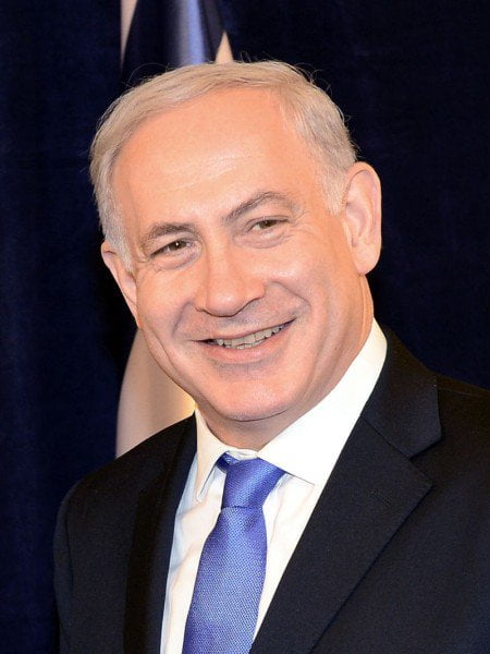 Israel's Prime Minister Benjamin Netanyahu. Wikipedia Commons