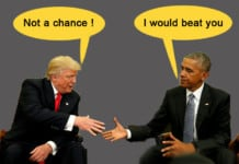 could obama beat trump.