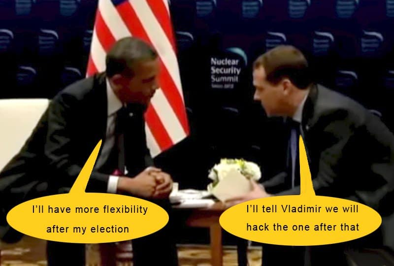 obama and his russian buddies.