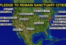 sanctuary cities map.