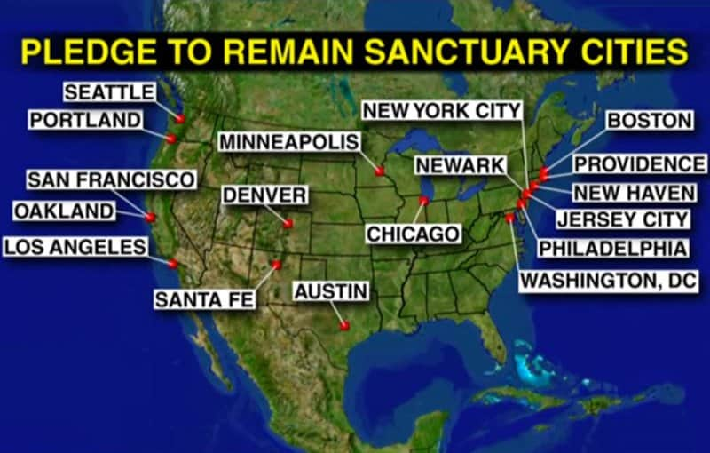 end of mindless political correctness - sanctuary cities.