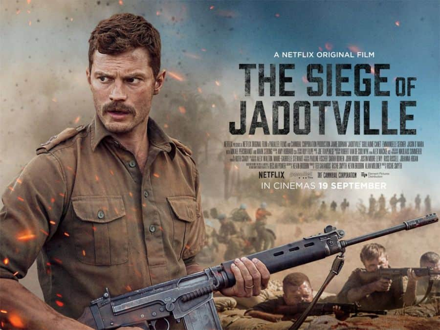 The siege of jadotville movie poster.