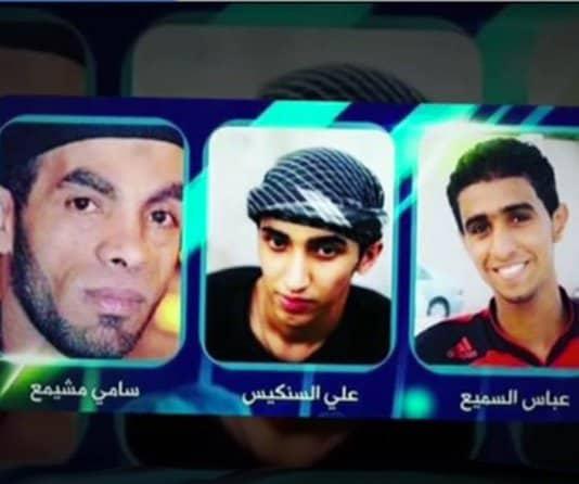 bahrain executions.