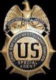 DEA badge.