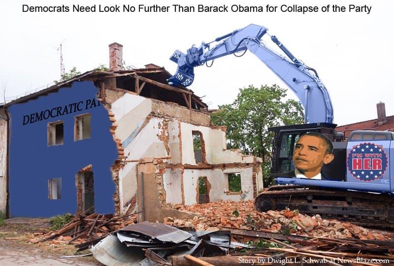 democratic party demolition.