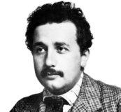 Albert Einstein in 1905.