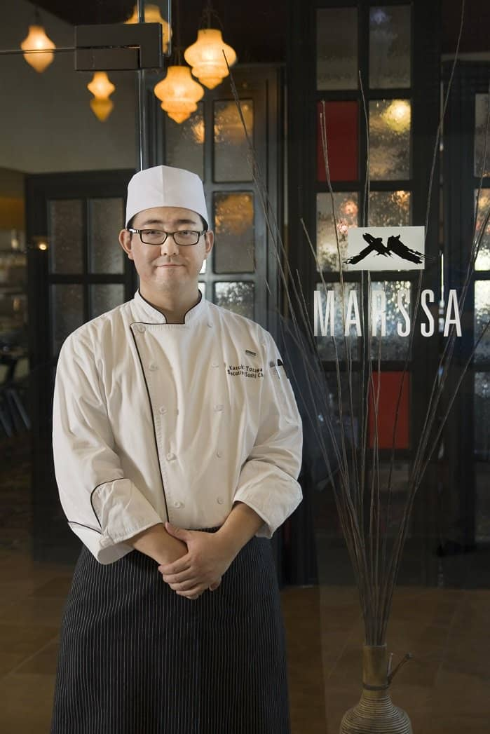executive chef kazuki tozawa.